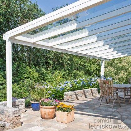 Weranda Gardendreams Giga z dachem szklanym (Aluminium terrace roofing with glass) 300 cm