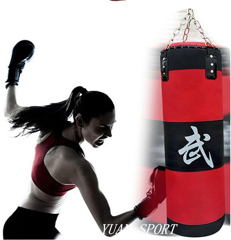 69.99$  Buy now - http://aliehf.worldwells.pw/go.php?t=32727401773 - High quality!100cm Training Fitness Boxing Bag Hook Hanging saco de boxe Kick Fight Bag Sand Punch Punching Bag Sandbag