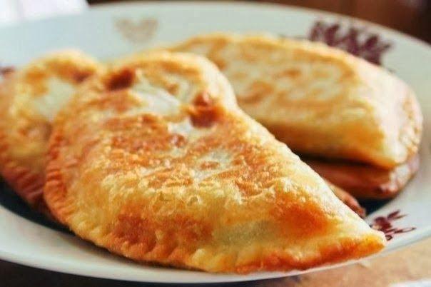 Лучшие кулинарные рецепты: Чебуреки с мясом. Очень удачное хрустящее тесто!