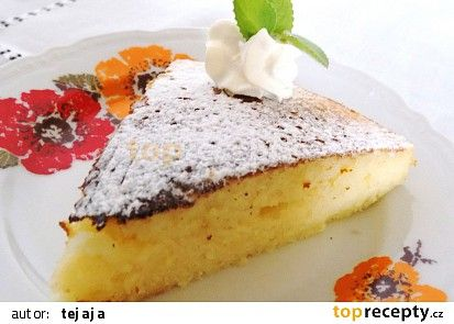 Horký mléčný koláč recept - TopRecepty.cz