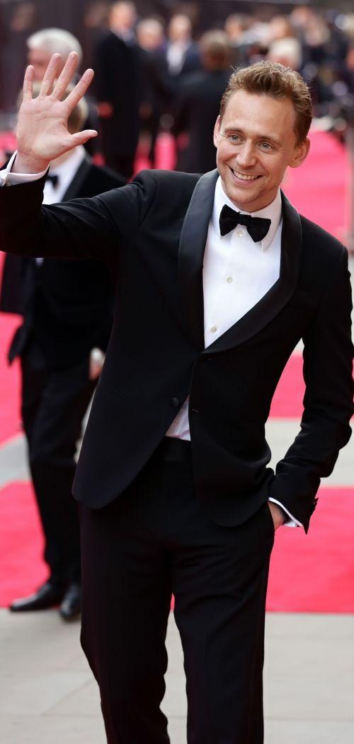 Tuxedo Tuesday: Tom Hiddleston at the 2013 Olivier Awards. Higher resolution image: http://maryxglz.tumblr.com/post/159974748357/tom-hiddleston-at-the-2013-olivier-awards