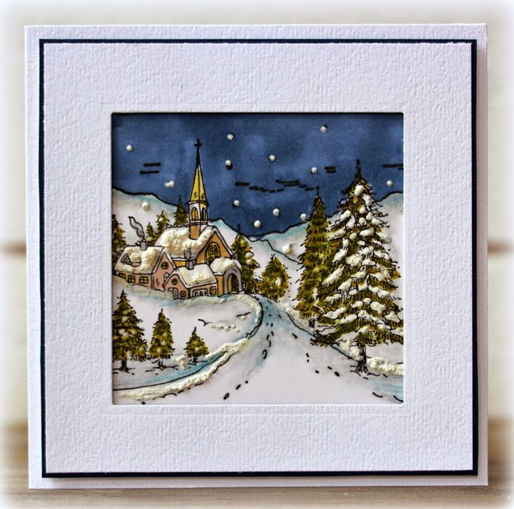 Rapport från ett skrivbord: Winter Wonderland 3 (Penny Black Snowy Hamlet)