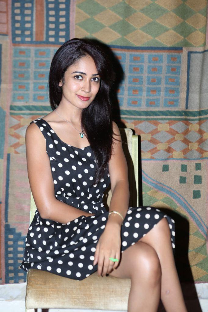 Actress Aditi Chengappa New Photos at  Luxury Fashion Exhibition