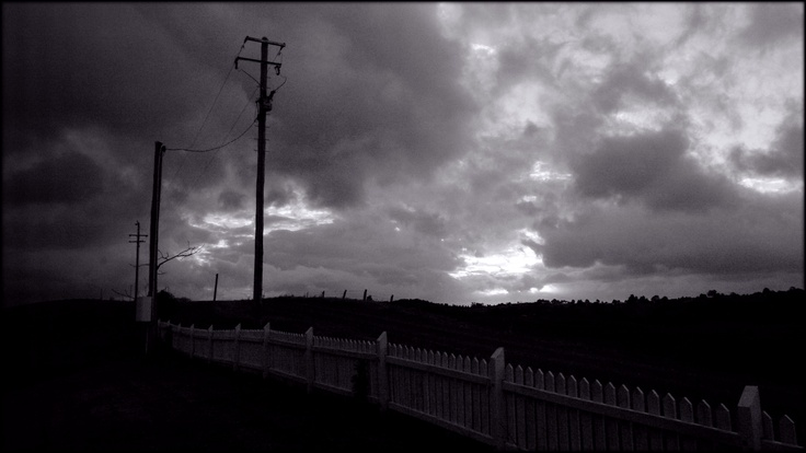 Stormy sky over Maleny, Queensland.
