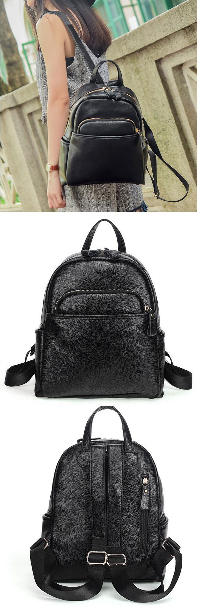 New Arrival Cute Motorcycle Style Solid Zipper Black School Bag PU Travel Backpack backpack luggage,backpack luggage strap,backpack luggage travel,backpack college,backpack college laptops,backpack college girl,backpack college girl style,backpack college laptops,backpack black,backpack black small,backpack black white,backpack black school,backpack men travel,backpack men,backpack men travel canvases,backpack men college,backpack men fashion,backpack men fashion style