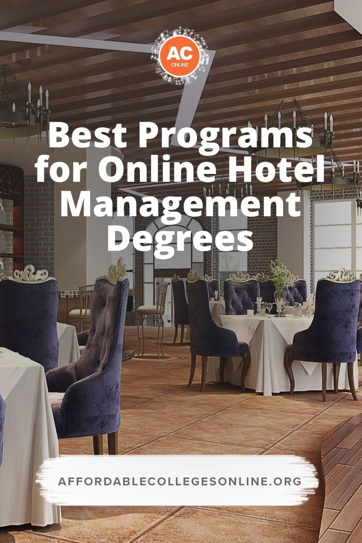 Best Online Hotel Management Programs With Images Scholarships