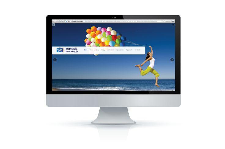 Przy tej stronie mieliśmy ochotę spakować walizkę i wyjechać w jedno z pięknych, słonecznych miejsc.  Wybierzcie się w podróż na: www.inspiracjenawakacje.pl
