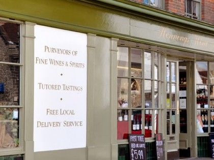 Visitors to Petworth will find it impossible to walk past Hennings. Nestled between several designer boutiques and Antique shops, the Petworth branch is bursting with a huge selection of wines. Drop by on a Saturday after shopping for an in-store tasting.