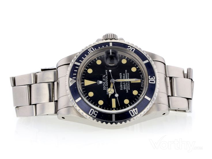 Pre-Owned Rolex Submariner 1680 5406187 - Auctioned at Worthy