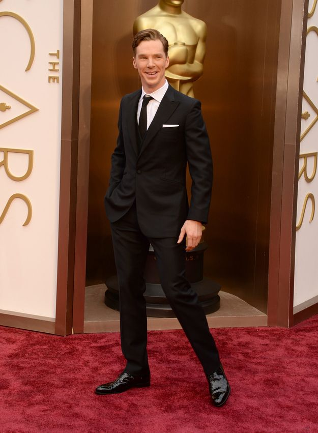 Benedict Cumberbatch | The 16 Most Dapper Men At The Academy Awards <–– Pinning solely because Benedict is on the list!