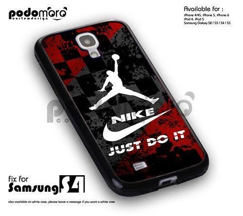 BD 407 Nike Just Do It Jordan - samsung s4 | PodoMoro - Accessories on ArtFire