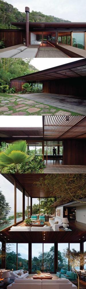 jacobsen arquitetura synthesizes AMB house + brazilian jungle by charmaine