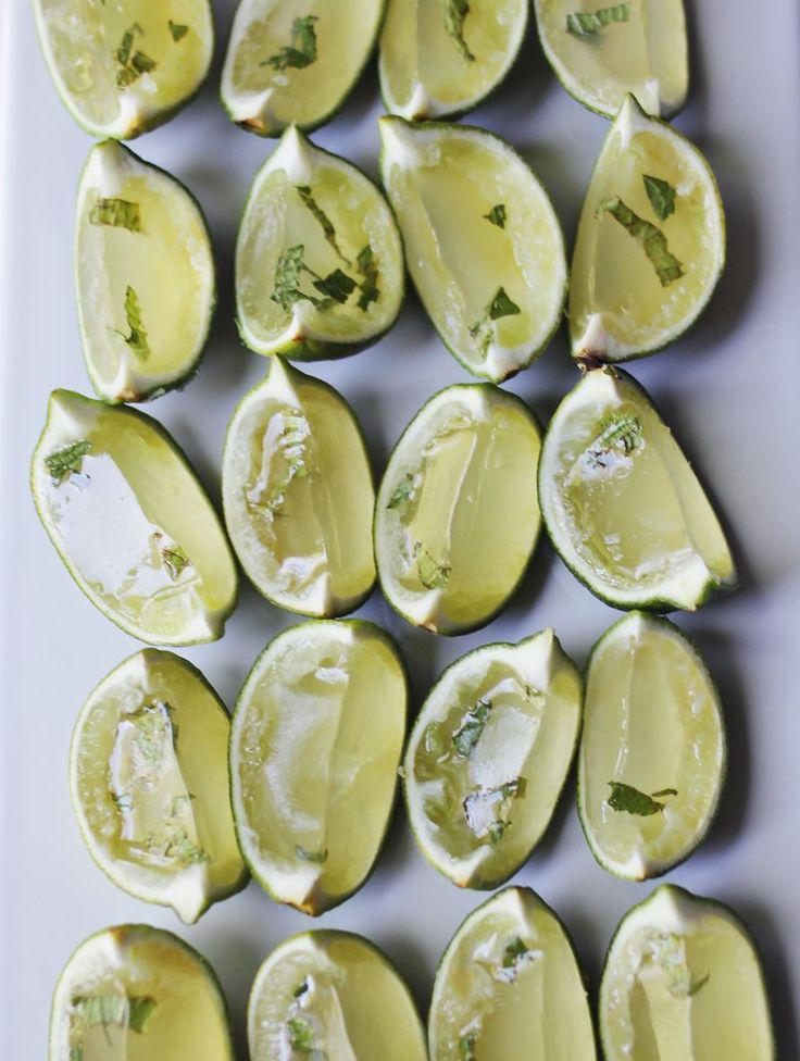 A Beautiful Mess: Mojito Jello Shots