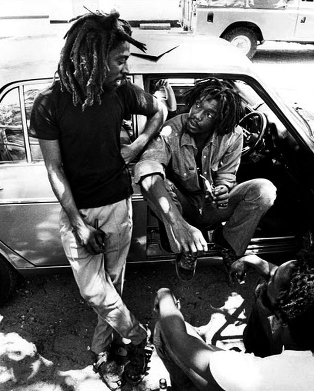 *Peter Tosh* & Bunny Wailer. More fantastic pictures and videos of *The Wailers* on: https://de.pinterest.com/ReggaeHeart/