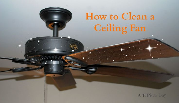 Cleaning Ceiling Fans