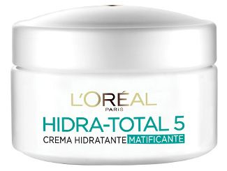 L'oréal Paris Hidra-Total 5 Crema Hidratante Matificante. Piel Mixta a Grasa < Buena pero le falta FPS. :: L'oréal Paris Hidra-Total 5 Mattifying Cream. Oily to combination skin. < Good by no SPF.