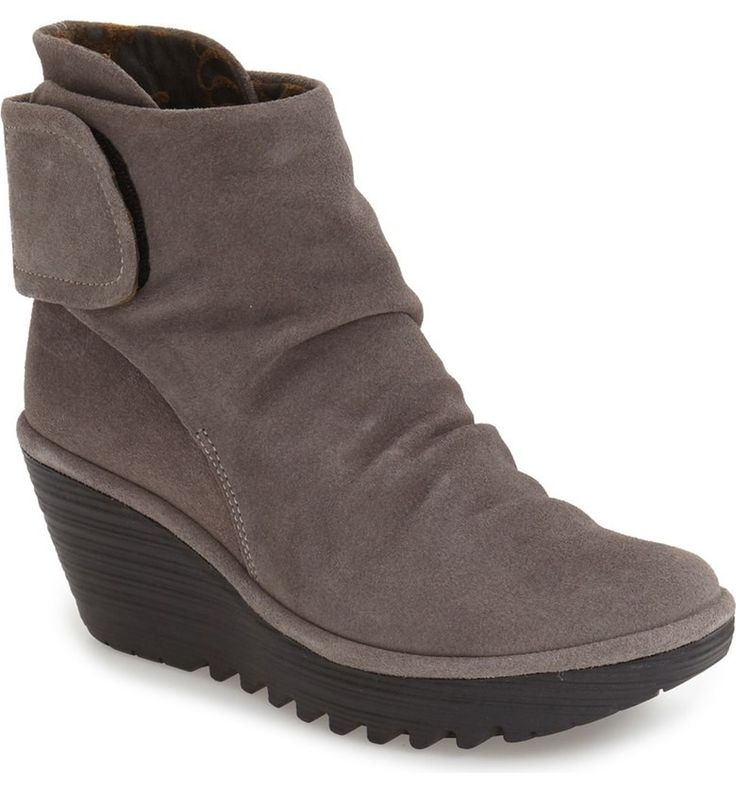 Fly London Oil Suede Ash Women's Booties