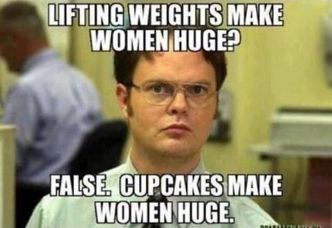 Women Fitness Motivation | Female Fitness Motivation for 2013 / CUPCAKES make women huge!!