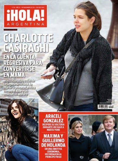 Charlotte Casiraghi the countdown to become a mother (*) Very excited and days away from the arrival of her baby...