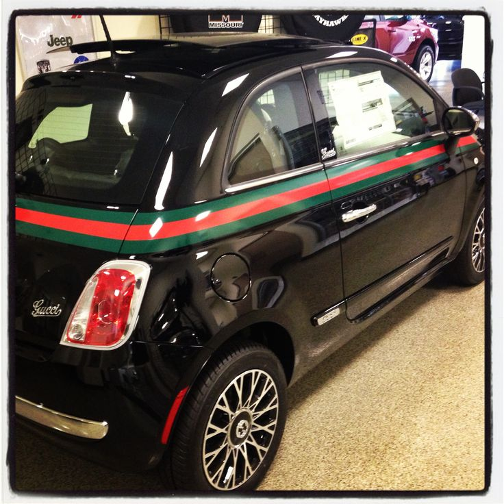 2013 Fiat 500 Gucci Package