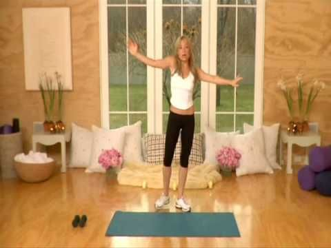 Tracy Anderson post pregnancy arm workouts. Her arm workouts are made to pull your muscles in to give you teeny tiny arms with defintion