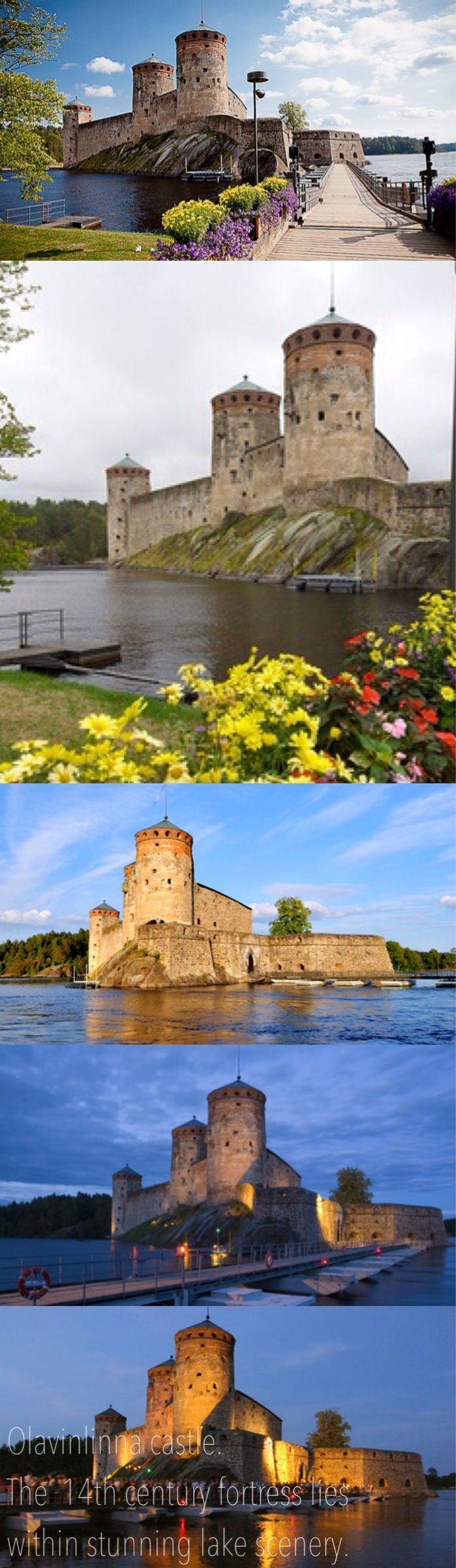 Olavinlinna (built on 1300s) , Savonlinna, Finland