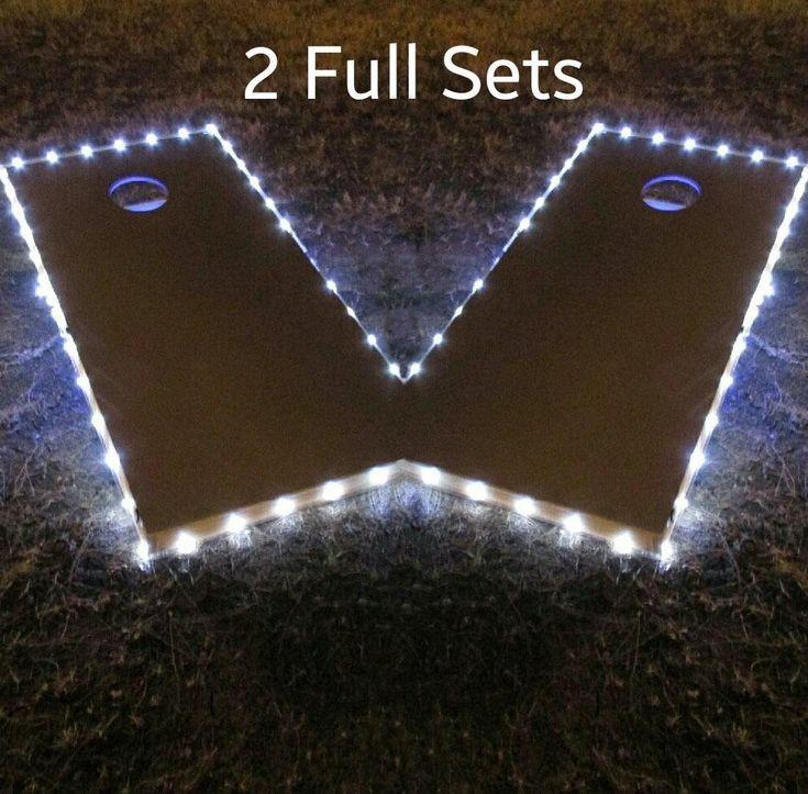 Ncaa College Montana State Universitynorthern Msun Northern Lights Bags Sleeves - 404-proglow - Pro-glow Cornhole Lights