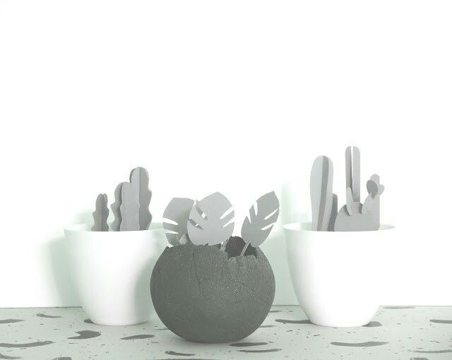 DIY Pflanzen aus Karton