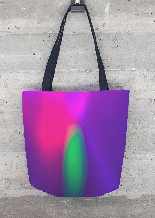 VIDA Tote Bag - purple poppy pods by VIDA oNyOL