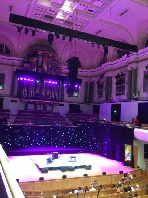 National Concert Hall venue inside.