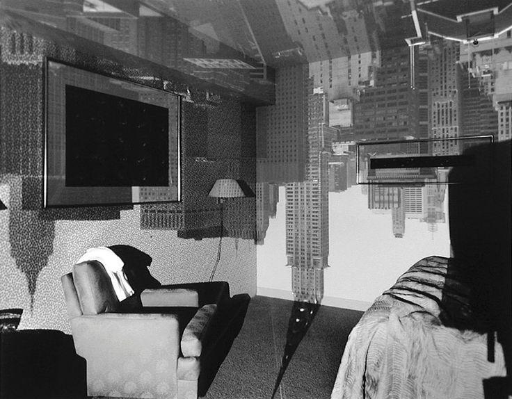 Abelardo Morell, Camera Obscura Image of the Chrysler Building in Hotel Room  1999