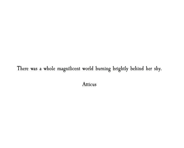 'Burning Brightly' #atticuspoetry #atticus #poetry #poem #love #words #world #burning #shy #loss #lust #dust