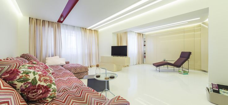 minimalist apartament, epoxy resin flooring