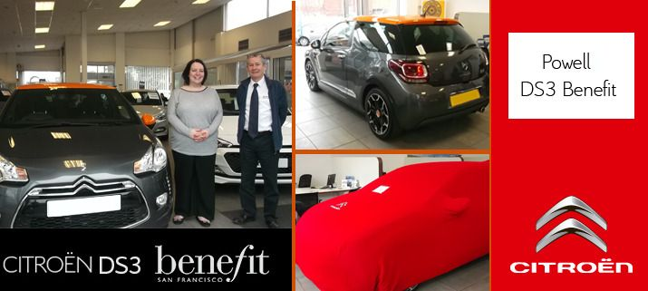 All Electric were very happy to hand over the keys to Leoni Powell when she took delivery of the very last DS3 DStyle by Benefit earlier this year.  I am sure you will see this stunning car around the West Midlands with Leoni still smiling.  http://www.allelectric.co.uk/citroen/about-us/ds3dstylebenefit/