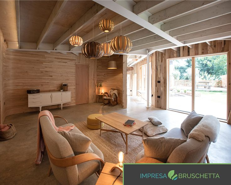 LA CASA DEL VAPORE  Gli interni della casa del vapore risulta caldi e confortevoli, grazie all'utilizzo del legno.🔥🔥   Se vuoi intravedere la bellezza dell'edilizia, seguici su:  www.impresabruschetta.it