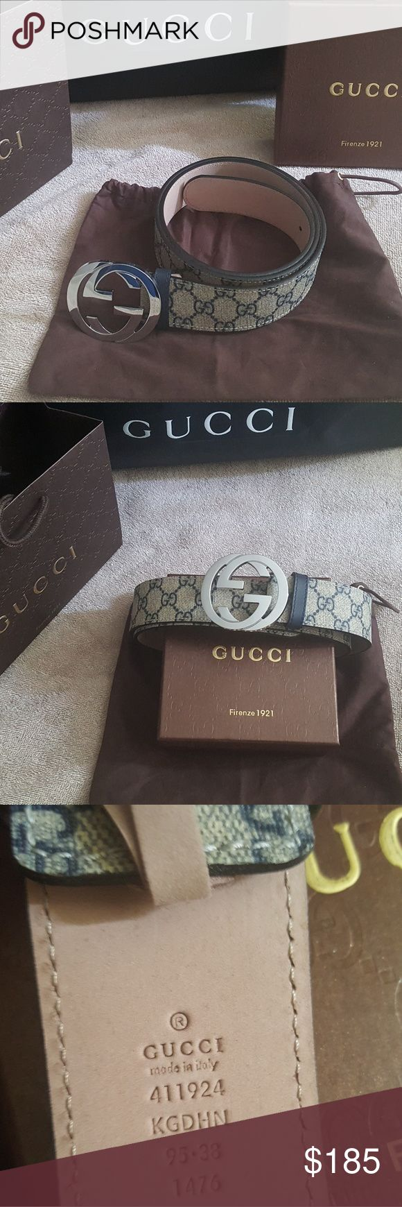 Gucci belt Brand new Gucci belt  in GG supreme canvas,comes with box and dust bag Gucci Accessories Belts