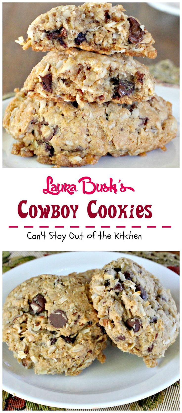 Laura Bush's Cowboy Cookies | these fabulous cookies were a presidential winner!!!!!!!