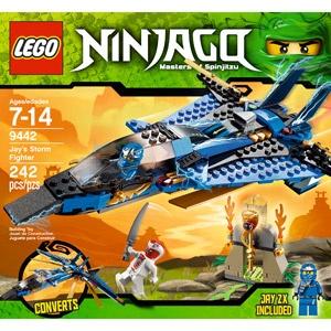 lego ninjago jays storm fighter