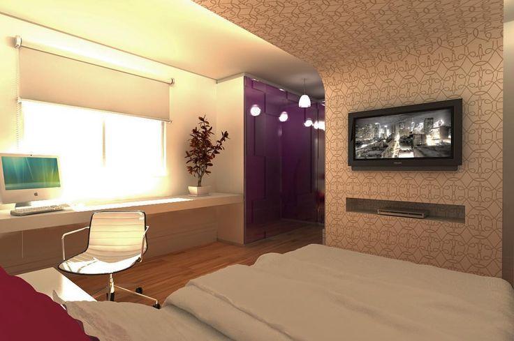 O quarto da adolescente ficou lindo! Conheça mais projetos da Conseil Arquitetura em nosso site http://ift.tt/2eF7vge