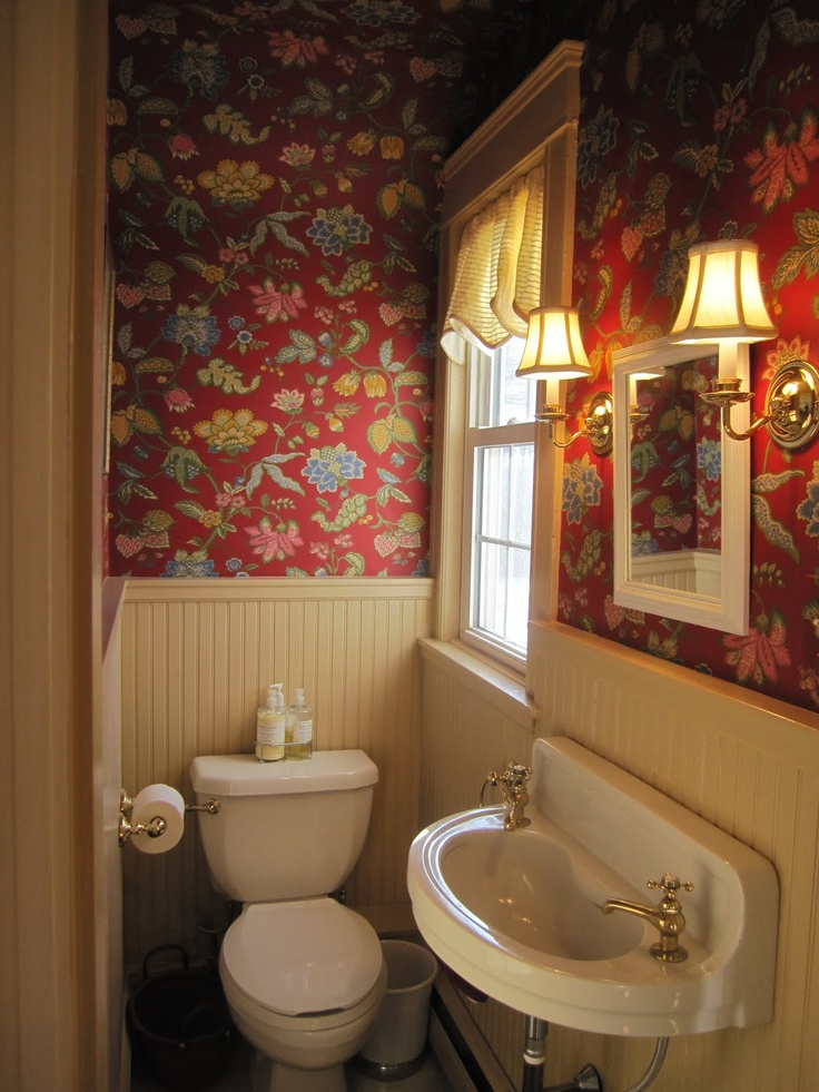 How To Wallpaper A Small Room Lots Of Small Pipes