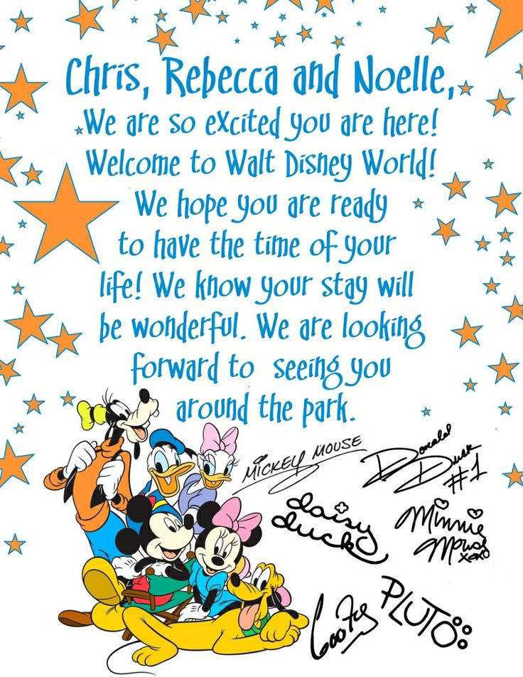 Best Disney Classroom Images On Pinterest Mickey Party - Disney surprise letter template