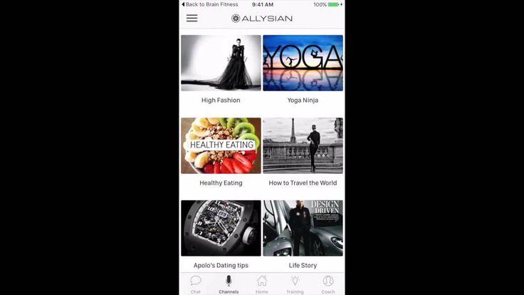 Allysian Mobile App Overview https://vimeo.com/146877012