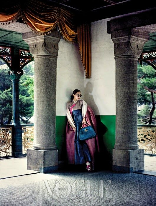 Vogue Korea August 2013  Editor: Oh Sang-seon  Stylist: So Young-hee  Hair: Kim Jung-han  Makeup: Pa...