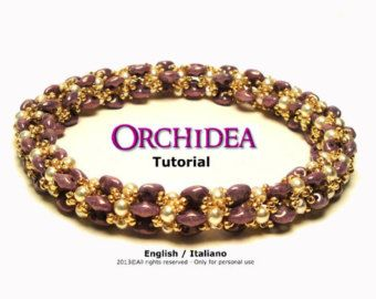 Tutorial Fuxia Bracelet-beading pattern by FucsiaStyle on Etsy