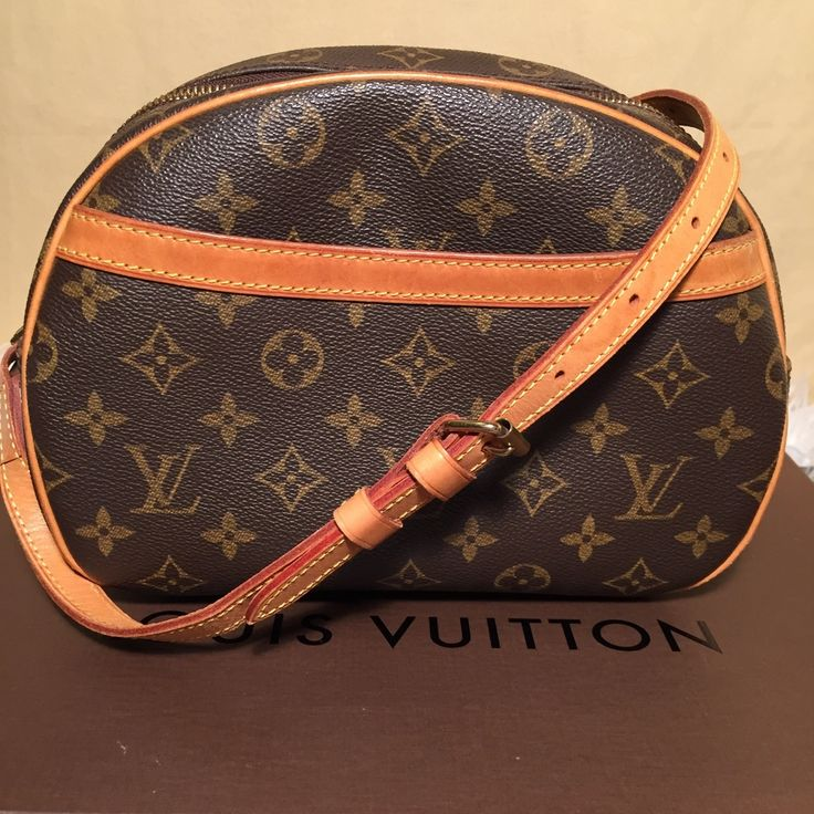 SALE! Authentic LV Monogram Blois Crossbody Bag BA1022 - The Luxe Boutique