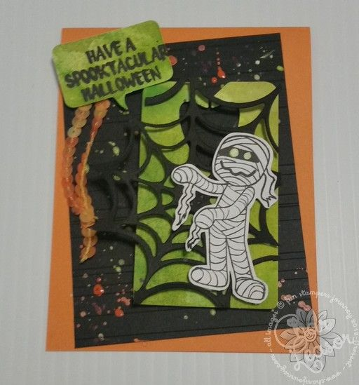 Have a Spooktacular Halloween!! I love this little Mummy!! It is one of our ATS stamps that Hostesses can get free or pay only $7.95. Super great deal!! I entered this card for the Watercooler Wednesday challenge. It was a really fun challenge because it was a Tic-Tac-Toe board of …