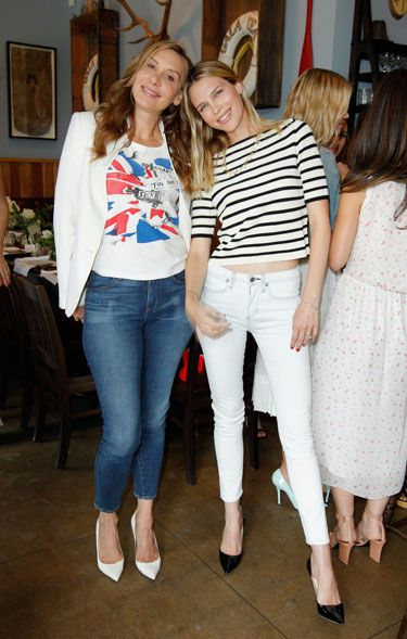 Paper Denim & Cloth and Baby2Baby Luncheon - Jacqui Getty and Sara Foster