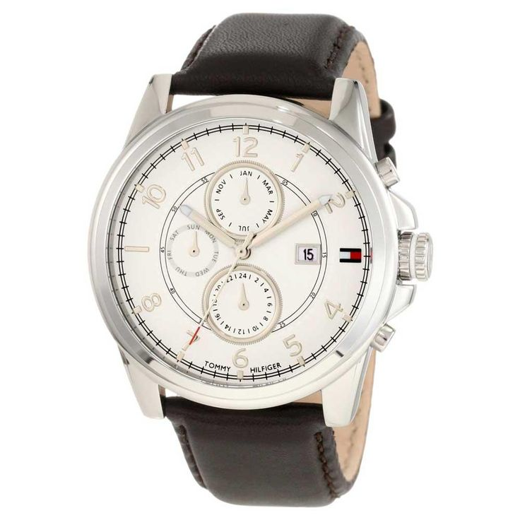 This Tommy Hilfiger watch focuses on classic sophistication. https://www.facebook.com/AuthenticWatchStore