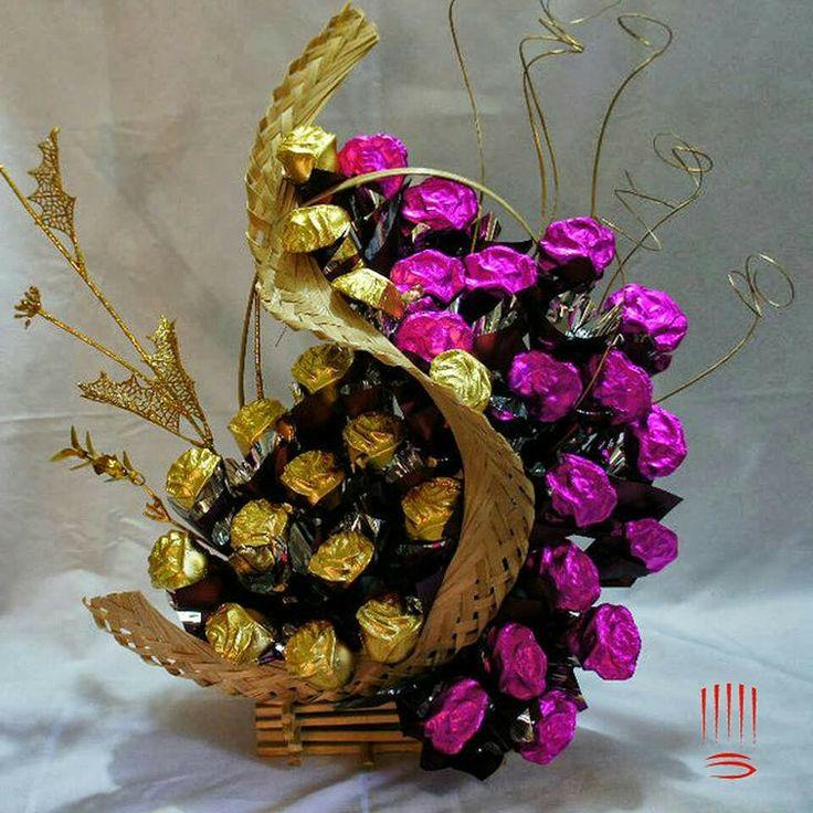 54 best sweet bouquets,sladké kytice images on Pinterest | Chocolate ...