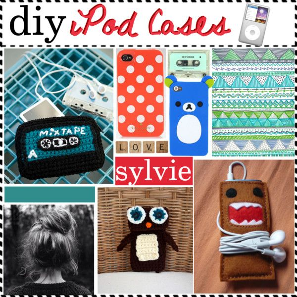 """diy IPod Case"" by happylittlegreengirltips ❤ liked on Polyvore"